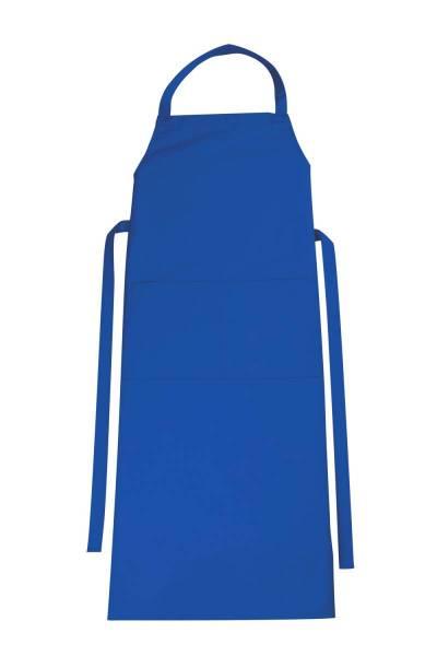 Blaue Latzschürze mit Tasche Verona von CG Workwear Bugatti