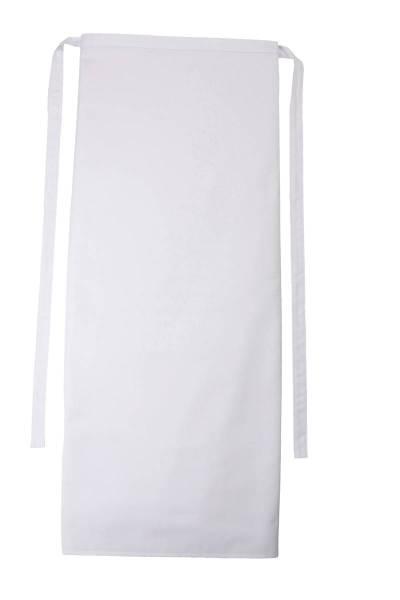 Weisse Bistroschürze 80x100cm Roma von CG Workwear