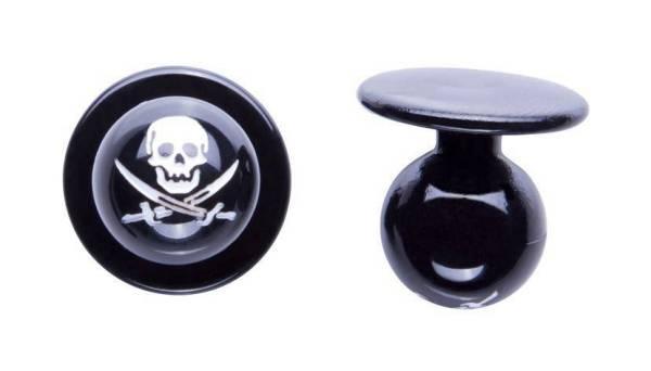 Totenkopf Kugelknöpfe Piraten