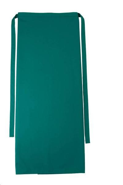Grüne Bistroschürze 80x100cm Roma Evergreen von CG Workwear Elefant