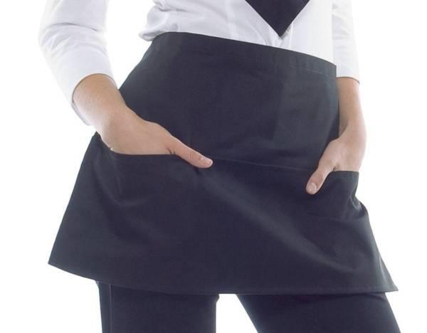 schwarzer vorbinder mit taschen salzburg