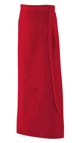 Rote Bistroschürze 100x100cm ex103