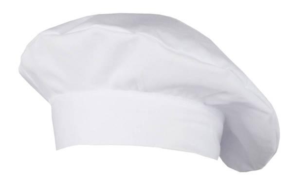 Weiße Kochmütze Bistromütze Fano