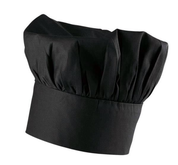 Schwarze Kochmütze EX112
