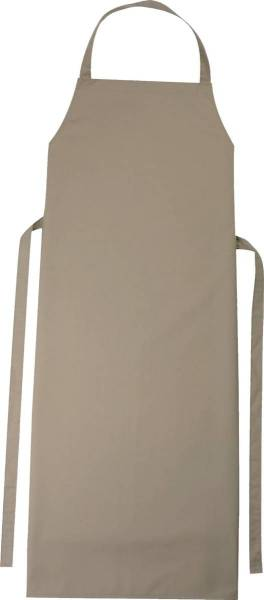 Khaki braune Latzschürze 110x78cm Verona von CG Workwear