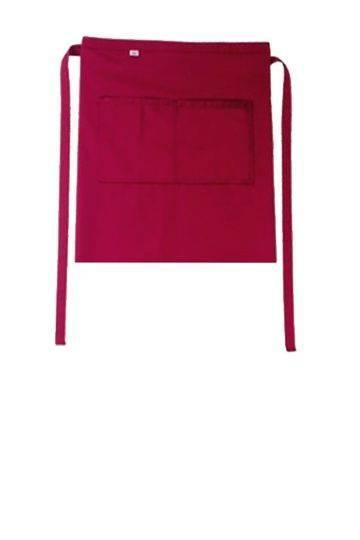 Cherryroter Vorbinder mit Taschen Roma Bag CG Workwear