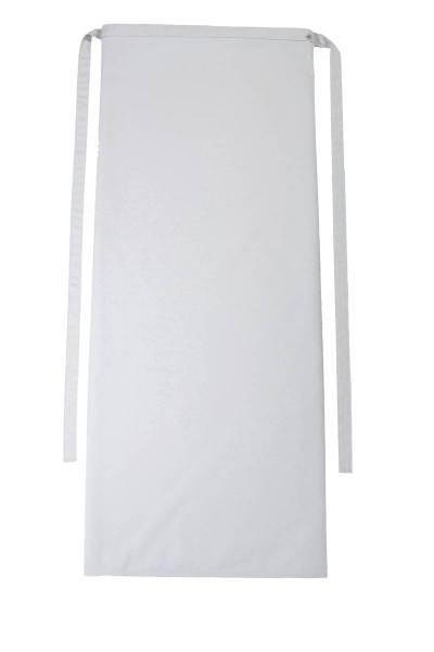Hellgraue Bistroschürze 100x100cm Roma Pale von CG Workwear