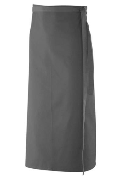 Graue Bistroschürze Exner 102 graphit