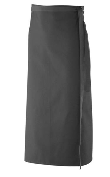Schwarze Bistroschürze ex102