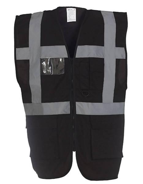 YOKO 801 Warnweste mit Taschen