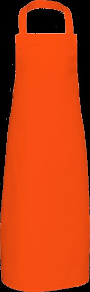 Orange Latzschürze XXL 110x73cm X969