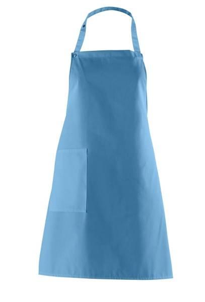 Latzschürze türkis lb473 Leiber blau