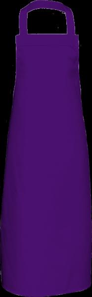 Lila Latzschürze extra lang X969 Link Kitchenwear