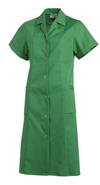Langer Arbeitskittel Damen Grün 1/2 Arm Leiber 490