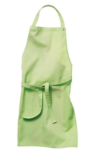 Apfelgrüne Kinderschürze 78x60cm, 95 Grad waschbar, Sassari CG-Workwear