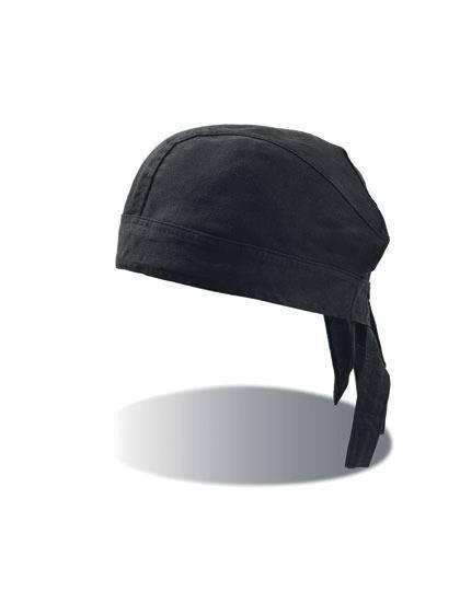 Schwarzes Bandana Baumwolle