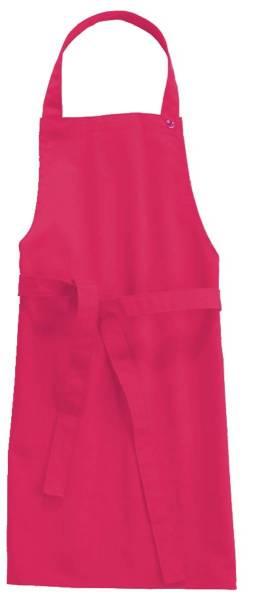 Magenta Kinderschürze 78x60cm, 95 Grad waschbar, Sassari CG-Workwear