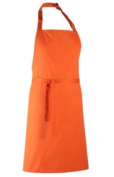 latzschürze orange