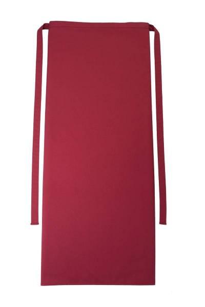 Rote Bistroschürze 80x100cm Roma Cherry von CG Workwear