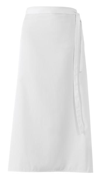 Weiße Bistroschürze 100x100cm lb153