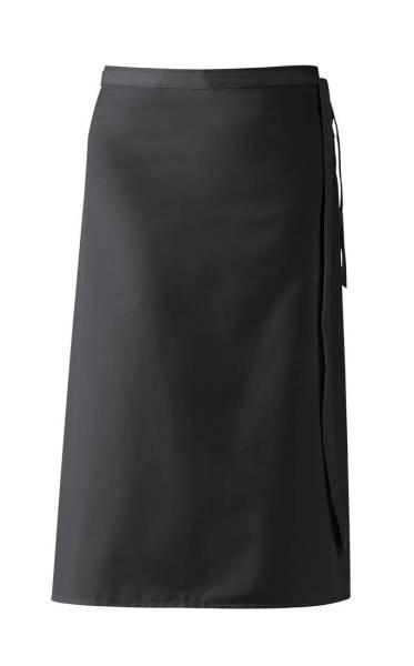 Schwarze Bistroschürze 80x100 cm Leiber 11/435