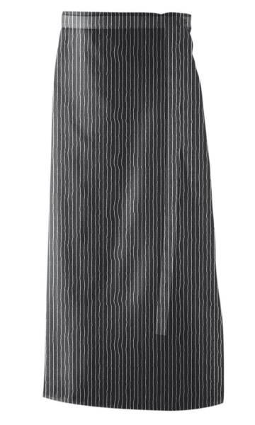 Nadelstreifen Vorbinder 100% Baumwolle 90x60cm ex101