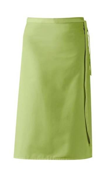 Hellgrüne Bistroschürze 80x100 cm Leiber 11/435 Apfelgrün