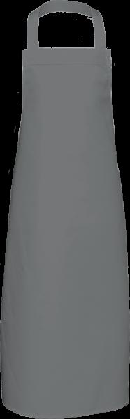 Graue Latzschürze extra lang X969 Link Kitchenwear