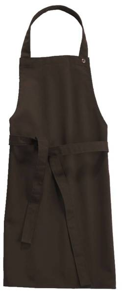 Chocolate braune Kinderschürze 50x78cm, 95 Grad waschbar, Sassari CG-Workwear