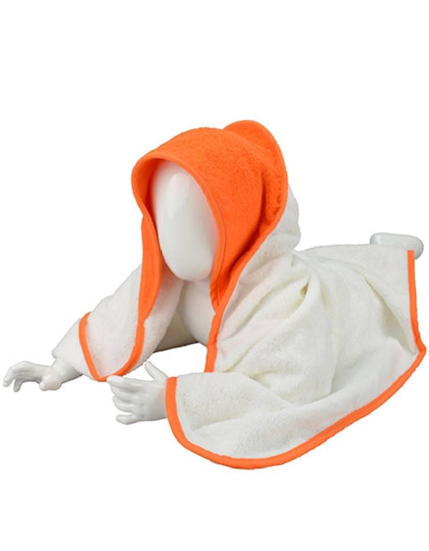 Weiß-Orange-Orange