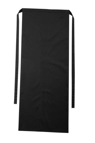 Schwarze Bistroschürze 100x100cm Roma von CG Workwear
