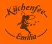 orange Schürze Küchenfee
