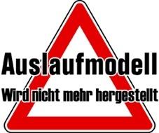 auslaufmodell