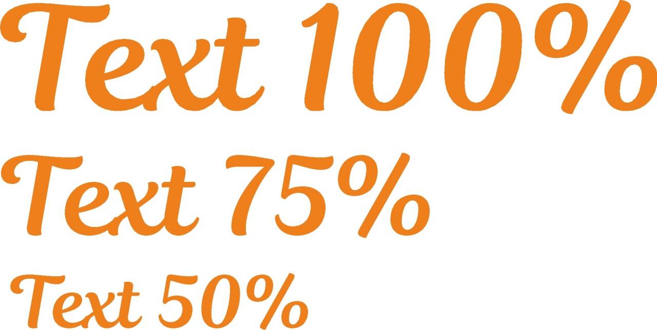 textsize-100-75-50