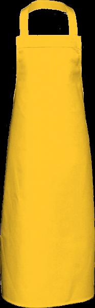 Gelbe Latzschürze extra lang X969 Link Kitchenwear