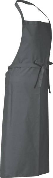 Graue Latzschürze 110x78cm Verona von CG Workwear Griffin