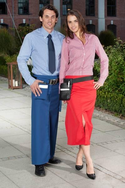 Kellnerschürze mit Schlitz Milano CG Workwear