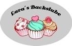 Graue Backschürze individuell bedruckt mit Name, Motiv Cupcake Backstube