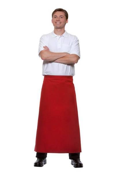 rote Bistroschürze 110x90cm Ibiza