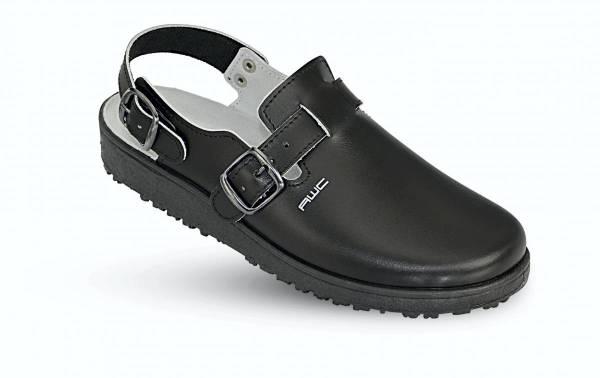 AWC Leder Sandale schwarz 17500 18500