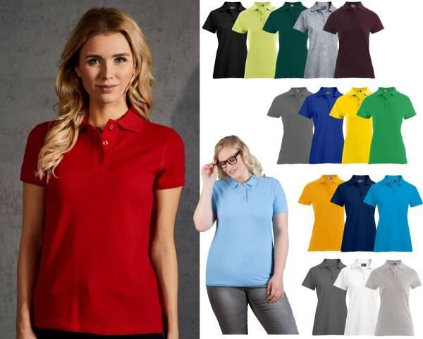 Damen Polo-Shirt 60 Grad waschbar
