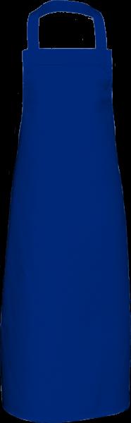 Royalblaue Latzschürze extra lang X969 Link Kitchenwear