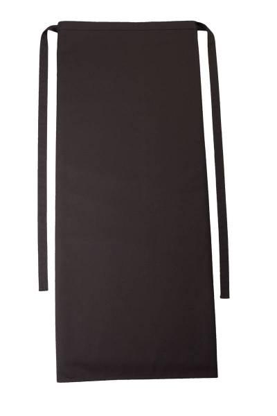 Dunkelbraune Bistroschürze 80x100cm Roma Chocolate von CG Workwear