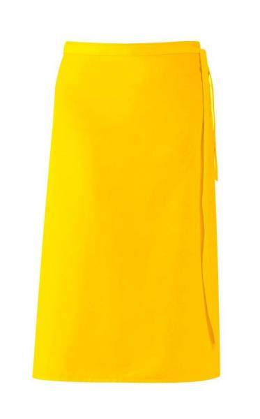 Gelbe Bistroschürze 80x100 cm Leiber 11/435