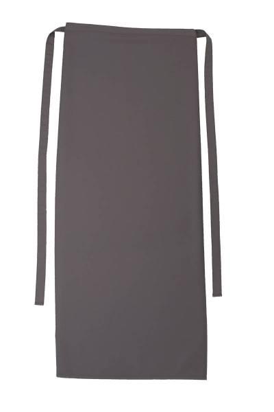 Graue Bistroschürze 80x100cm Roma Sand von CG Workwear Elefant