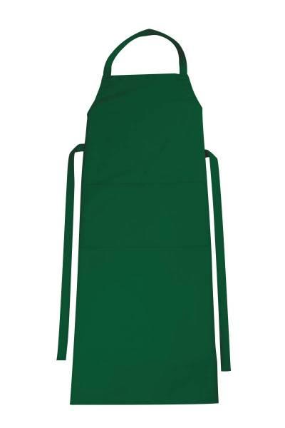 Grüne Latzschürze mit Tasche Verona von CG Workwear Irish