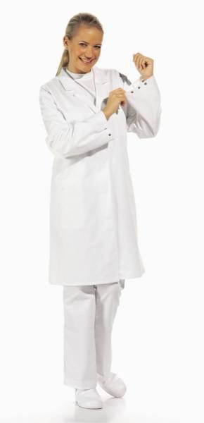 Weißer Damenmantel HACCP, Leiber 08/727