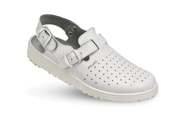 AWC Leder Sandale weiß 17501