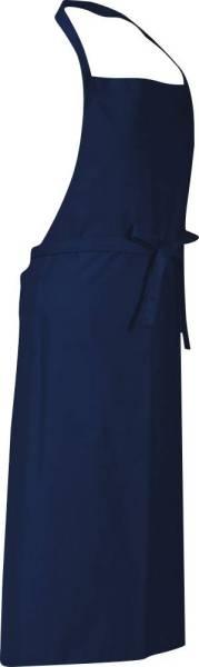 Marineblaue Latzschürze 110x78cm Verona von CG Workwear