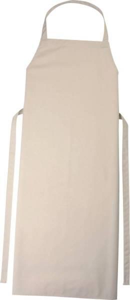 Hellbraune Latzschürze 110x78cm Verona von CG Workwear